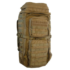 EBERLESTOCK FAC Track Coyote Brown Backpack (F3FC)