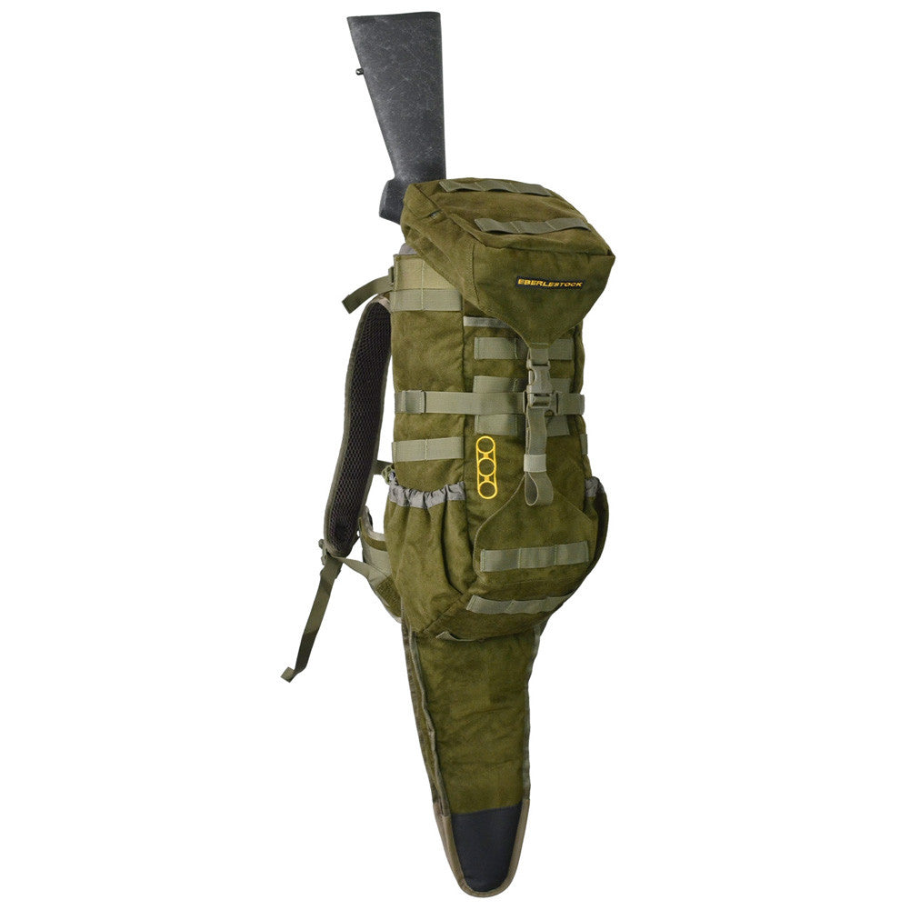 EBERLESTOCK H2MJ Gunrunner Military Green Backpack