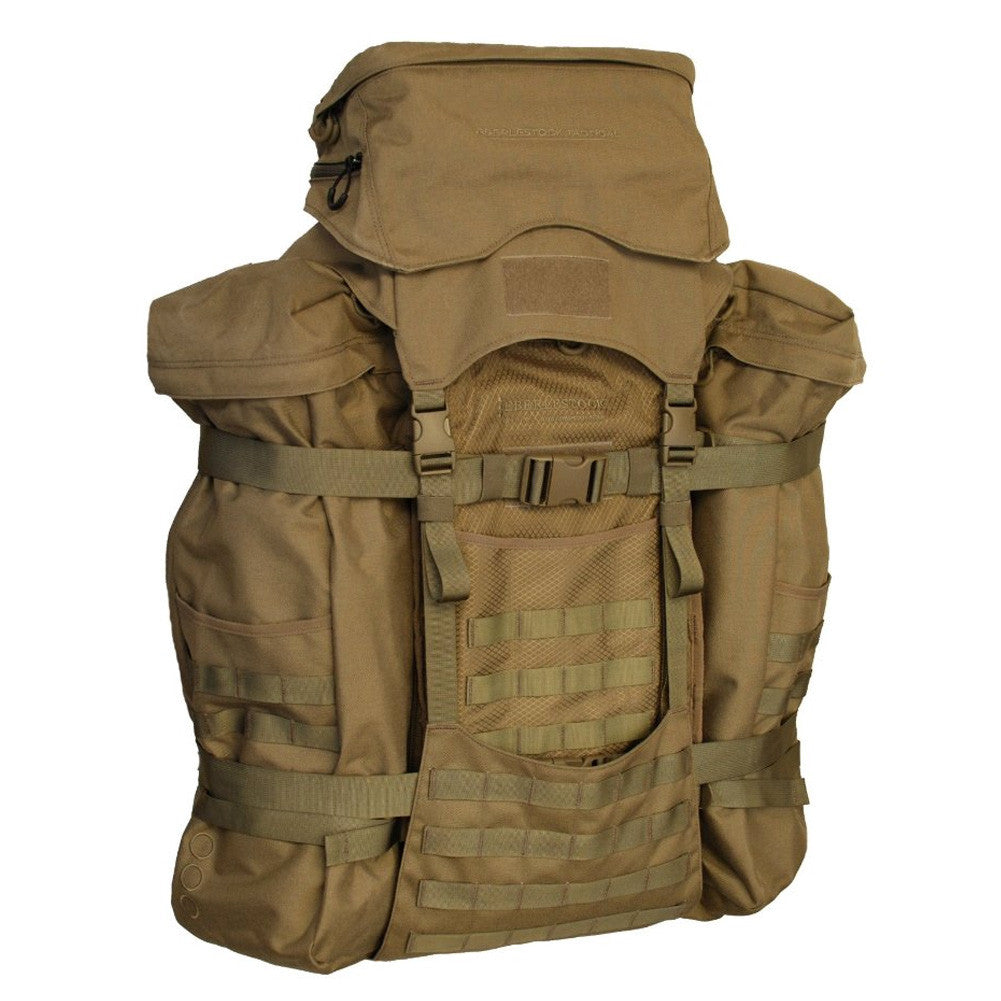 EBERLESTOCK Skycrane II Coyote Brown Backpack (J79MC)