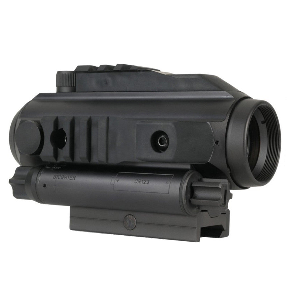 ELCAN Specter OS 3.0 3x Combat 5.56 RAF Reticle Scope with Flat Top Mount (ATOS3.0B2)