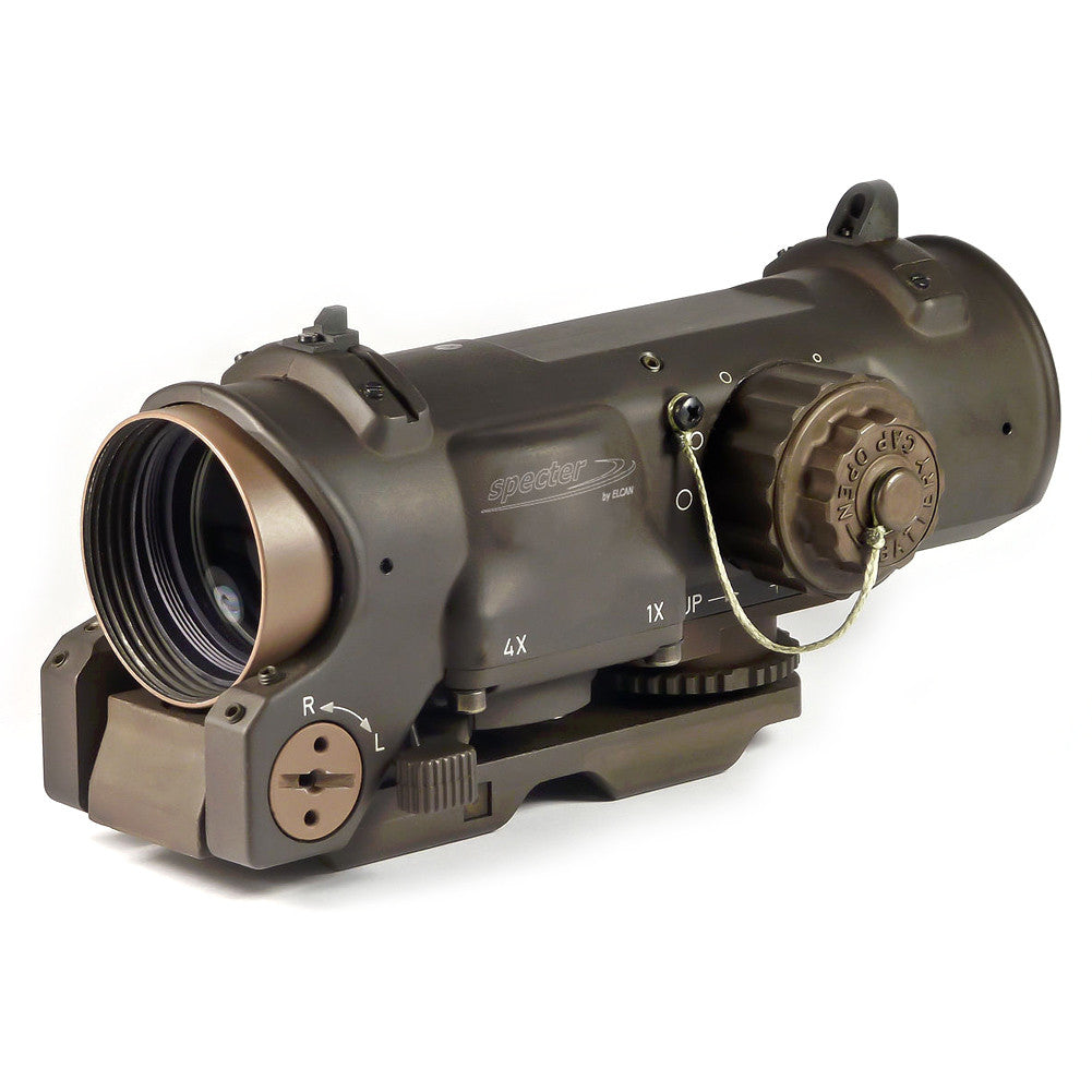 ELCAN DFOV14-T1 Specter DR 5.56 CX5395 Ballistic Reticle Scope with Integral A.R.M.S. Mount