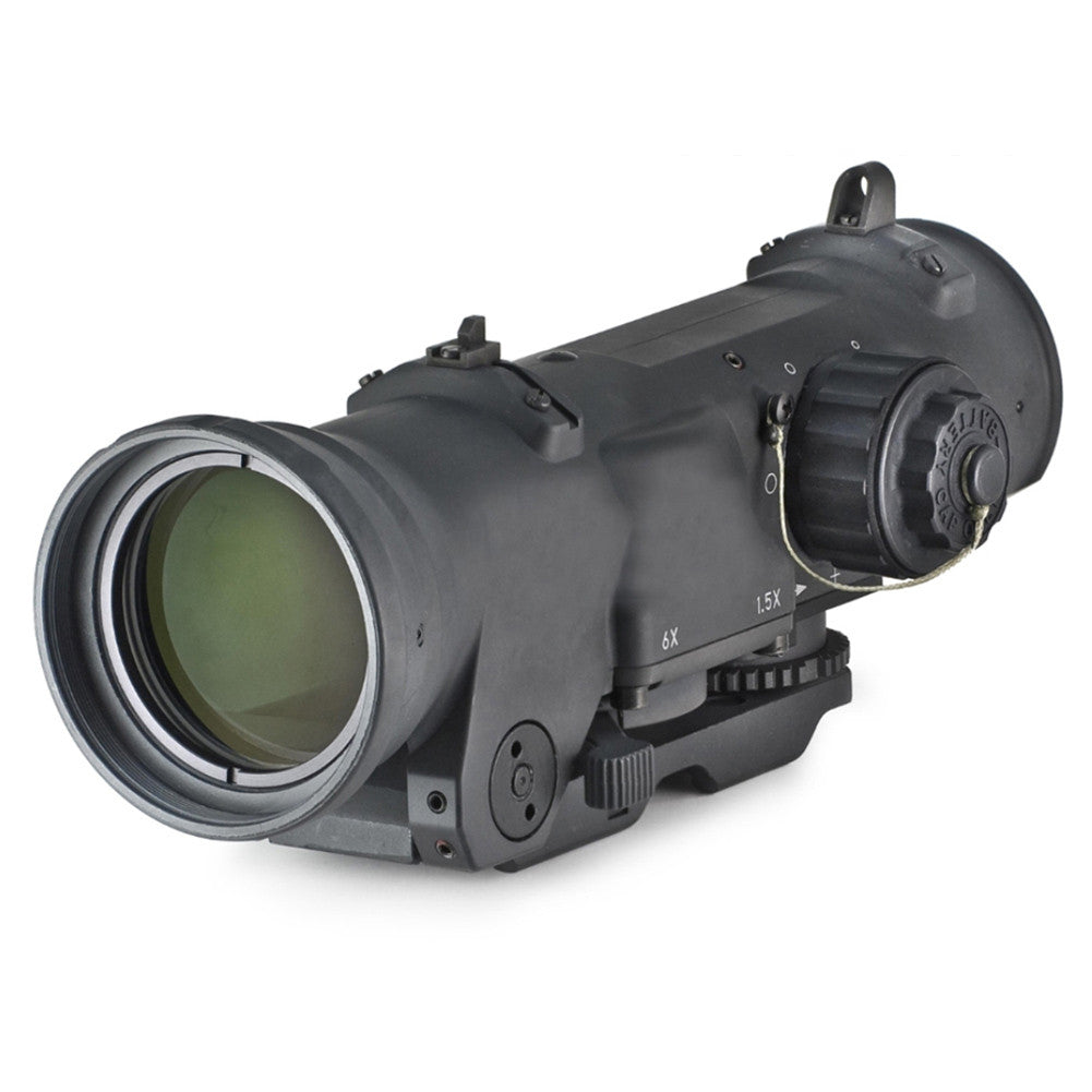 ELCAN Specter DR 5.56 CX5455 Ballistic Reticle Scope with Integral A.R.M.S. Mount (DFOV156-C1)