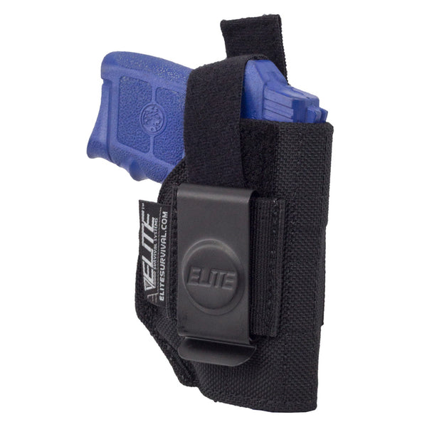 ELITE SURVIVAL SYSTEMS Inside The Waistband Clip IWB Ruger LCP With Laser Holster (BCH-10)