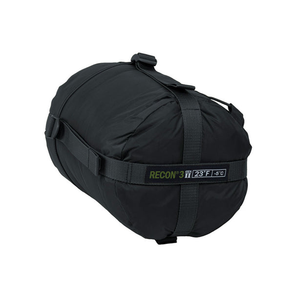 ELITE SURVIVAL SYSTEMS Recon 3 Black Sleeping Bag (RECON3-B)