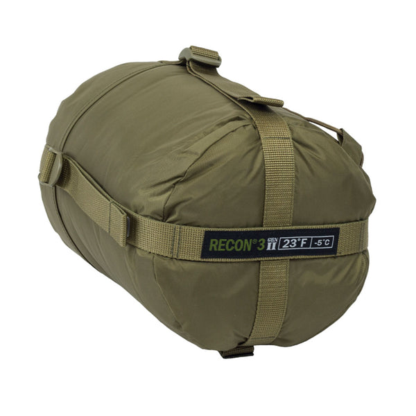 ELITE SURVIVAL SYSTEMS Recon 3 Coyote Tan Sleeping Bag (RECON3-T)