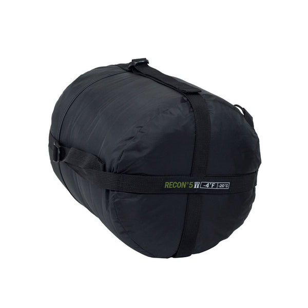 ELITE SURVIVAL SYSTEMS Recon 5 Black Sleeping Bag (RECON5-B)