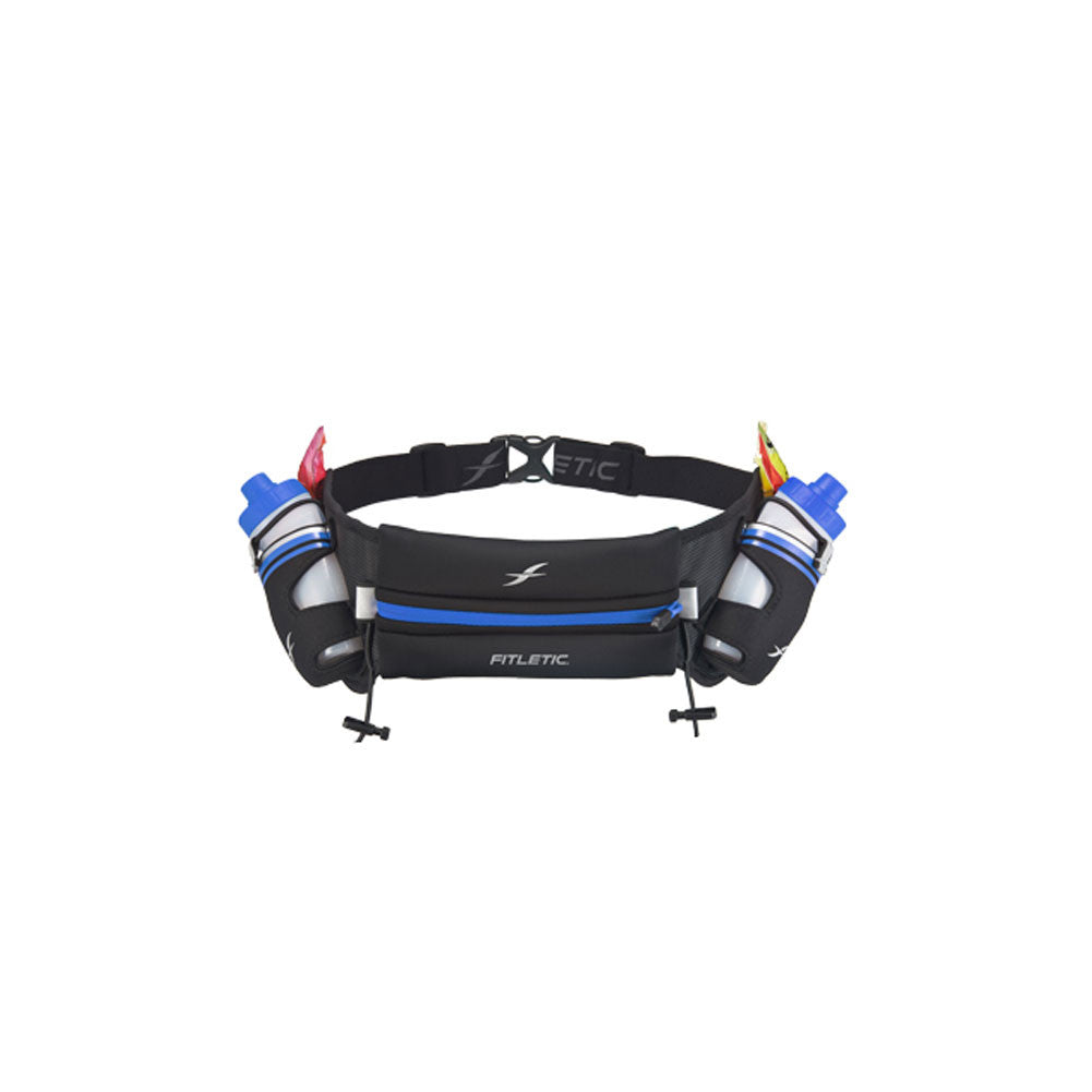 FITLETIC HD06-C4 Hydra 12 Black-Blue Hydration Belt