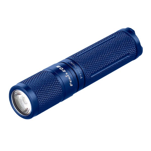 FENIX E05 85 Lumens Blue Flashlight (FX-E05E2BL)
