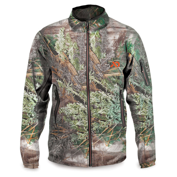 FIRST LITE North Branch Realtree Max-1 Soft Shell Jacket (MTSP1414)