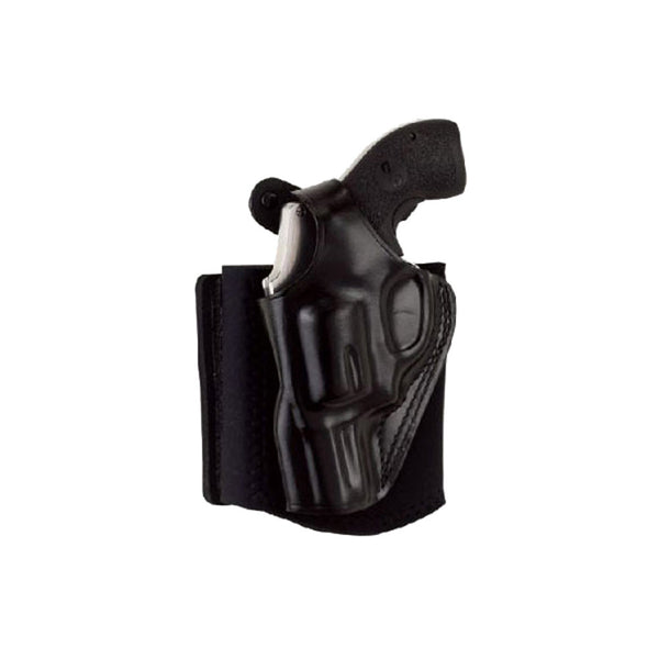 GALCO AG205B Ankle Glove Walther PPK Left Hand Black Ankle Holster