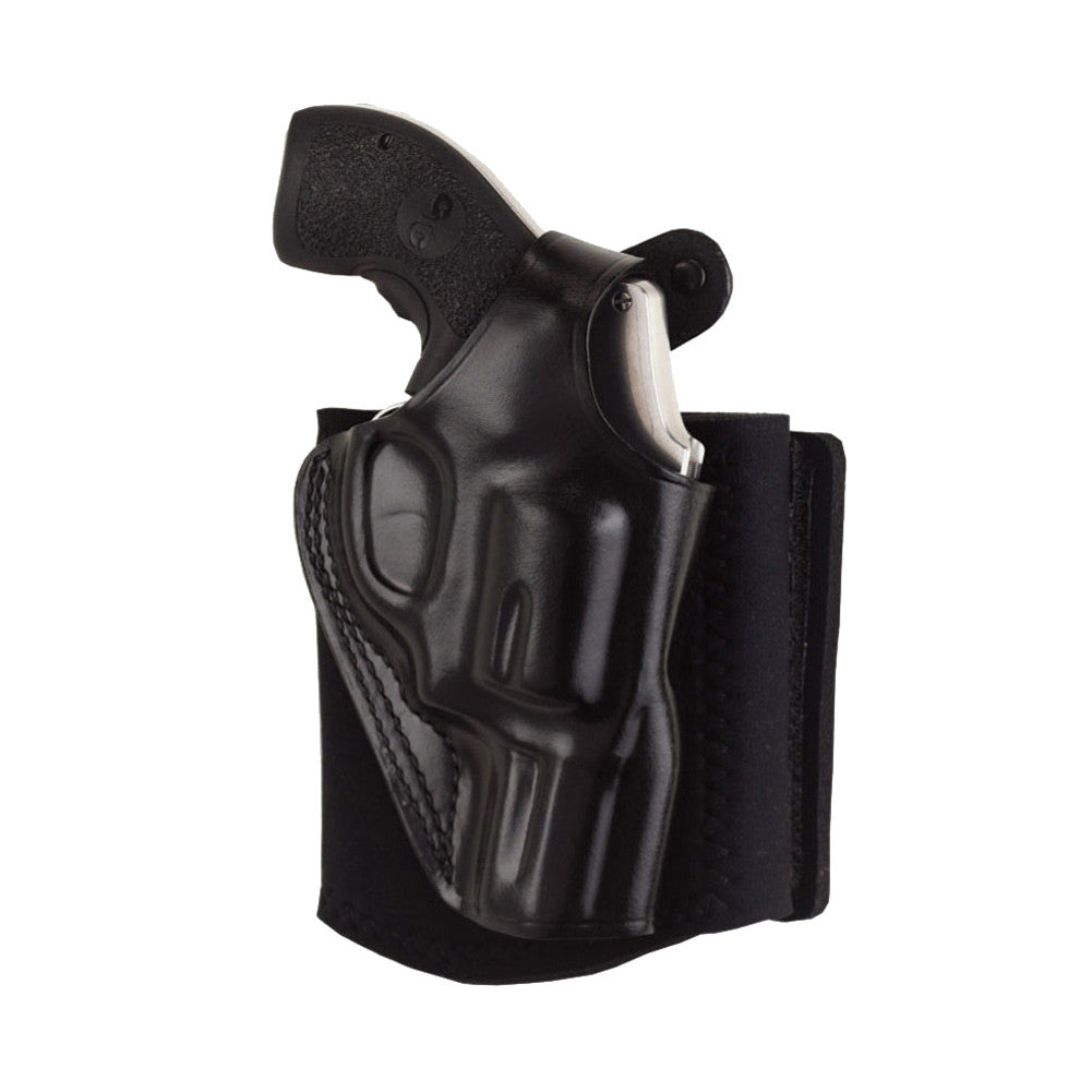 GALCO Ankle Glove Glock 26 Right Hand Black Ankle Holster (AG286B)