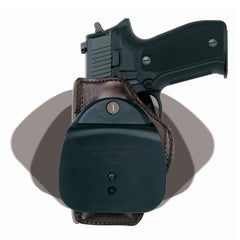 GALCO Concealed Carry Colt 3.5in 1911 Right Hand Leather Paddle Holster (CCP218H)