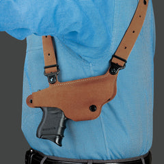 GALCO Classic Lite Glock 17 Right Hand Leather Shoulder Holster (CL224)