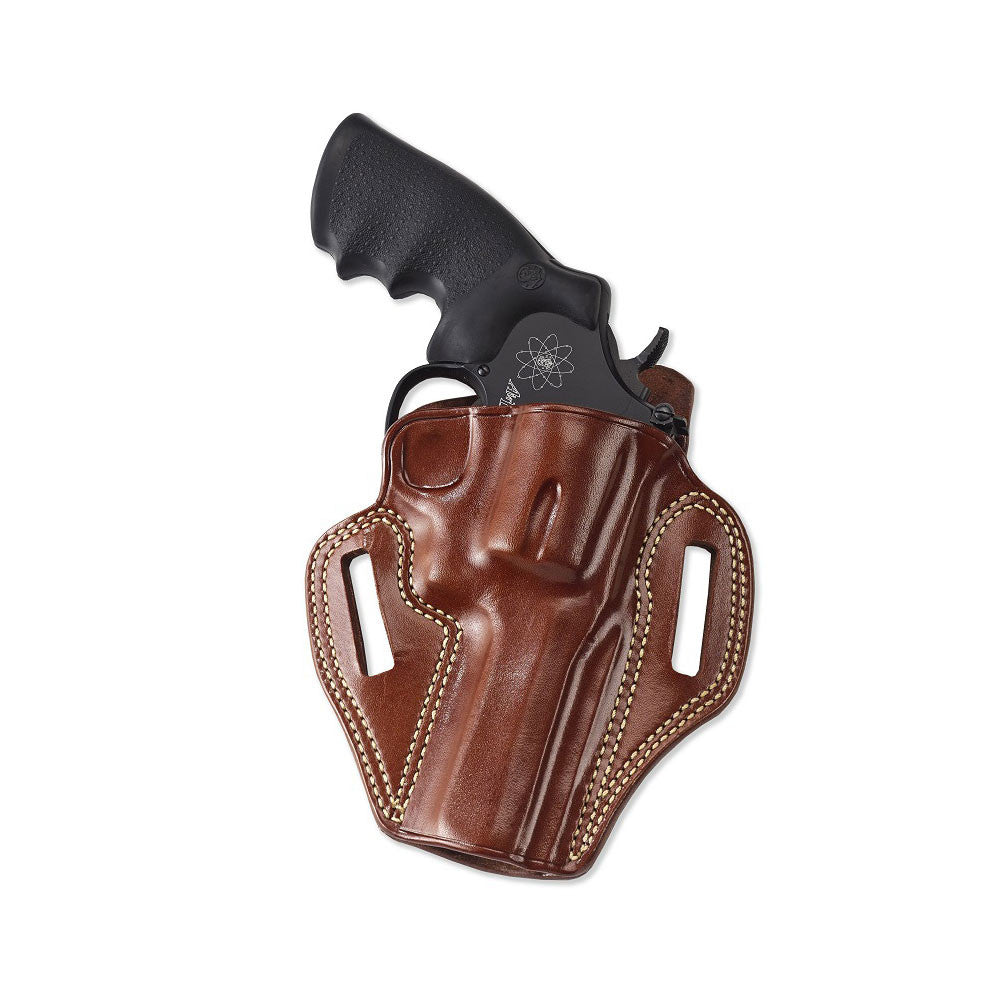 GALCO CM118 Combat Master Ruger SP101 2.25in Right Hand Leather Belt Holster