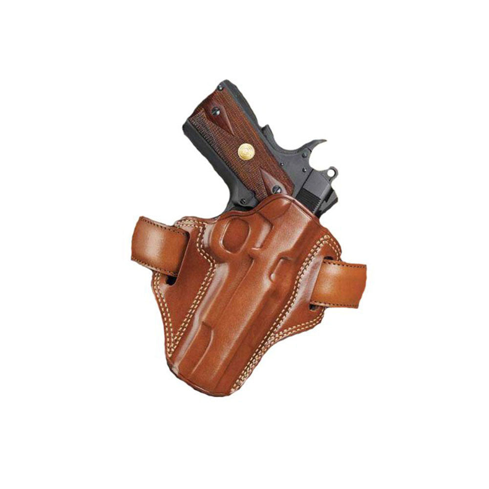 GALCO CM224 Combat Master Glock 17 Right Hand Leather Belt Holster