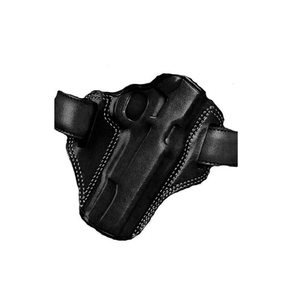 GALCO Combat Master Glock 17 Right Hand Leather Belt Holster (CM224B)