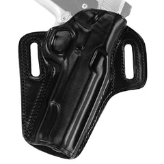 GALCO Concealable S&W J Frame Right Hand Leather Belt Holster (CON158B)