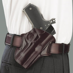 GALCO Concealable Kimber 4in 1911 Right Hand Leather Belt Holster (CON266H)