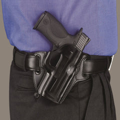 GALCO Concealable Kimber 4in 1911 with Rail Right Hand Leather Belt Holster (CON666B)