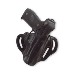 GALCO CTS290B COP Kahr K40 3 Slot Right Hand Leather Belt Holster