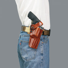 GALCO Dual Action Outdoorsman Ruger Redhawk 5.5in Right Hand Leather Belt Holster (DAO178)