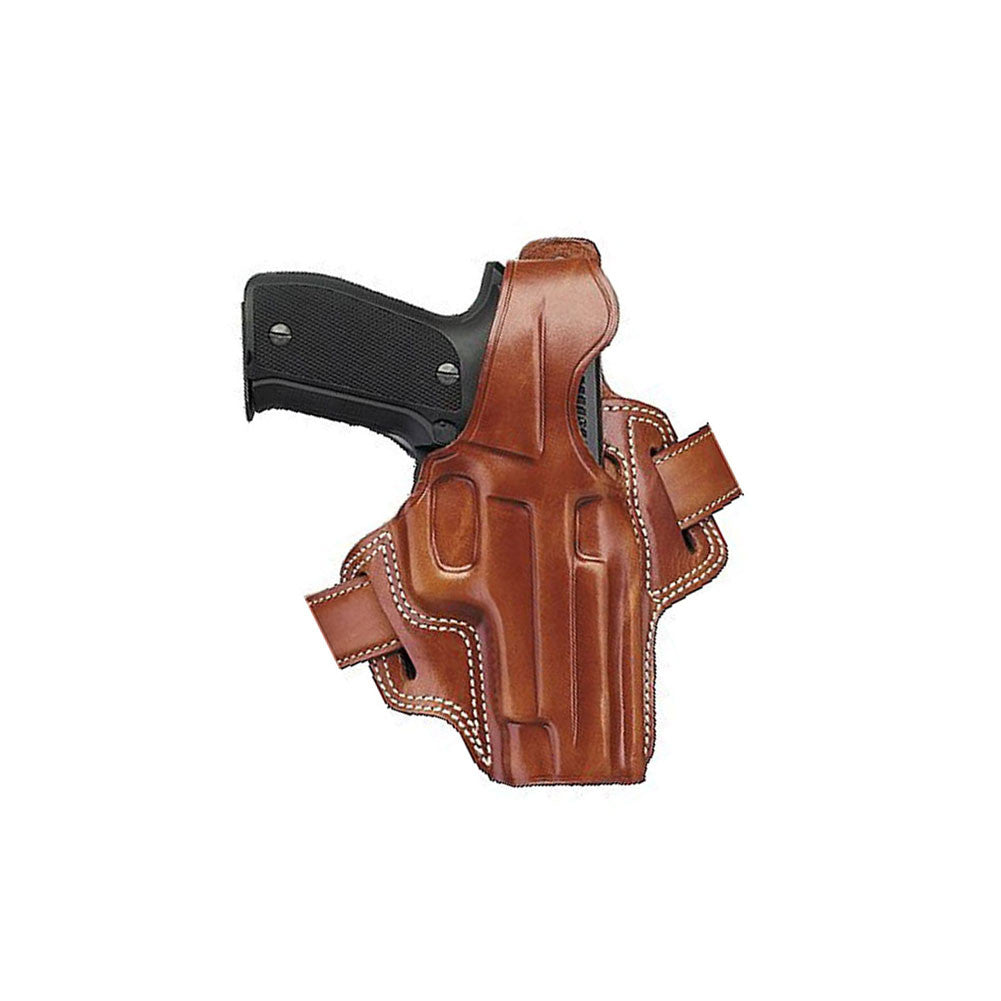 GALCO Fletch High Ride Glock 26,27 Right Hand Leather Belt Holster (FL286)