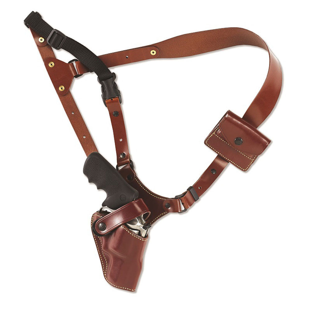 GALCO Great Alaskan Ruger Alaskan 2.5in Right Hand Leather Shoulder Holster (GA186)