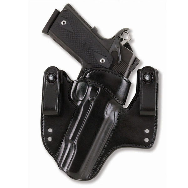 GALCO HWK424B V-Hawk Kimber 3in 1911 Right Hand Leather IWB Holster
