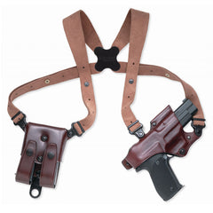 GALCO Jackass Rig Glock 20,21 Right Hand Leather Shoulder Holster (JR228H)