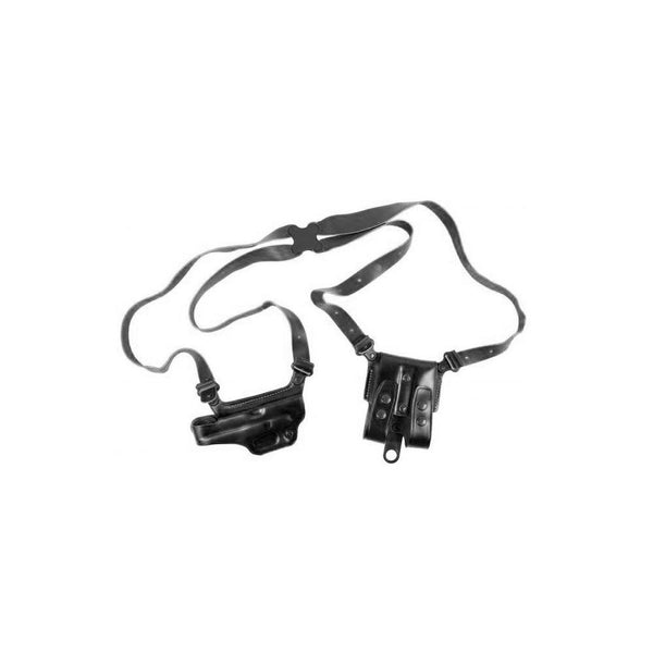 GALCO Miami Classic II Glock 17,22,31 Right Hand Leather Shoulder Holster (MCII224B)
