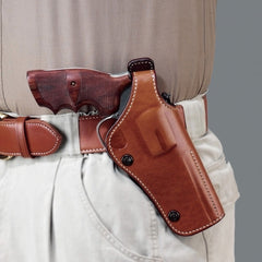 GALCO Dual Position Phoenix S&W N Frame 44 Model 29,629 5in Right Hand Leather Belt Holster (PHX124)