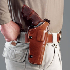 GALCO PHX126 Dual Position Phoenix S&W N Frame 44 Model 29,629 4in Right Hand Leather Belt Holster