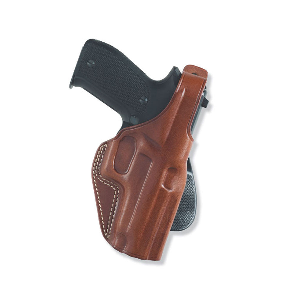 GALCO PLE286 P.L.E. Glock 26 Right Hand Leather Paddle Holster