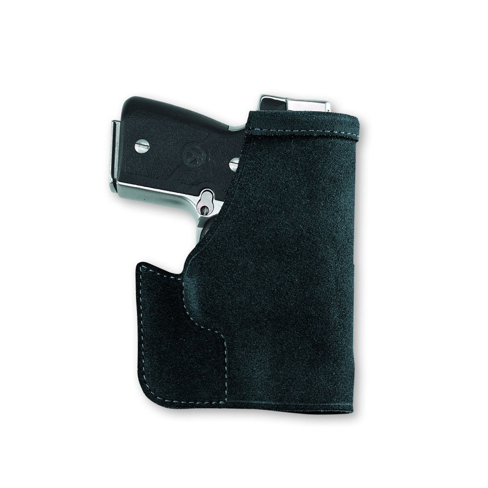 GALCO Pocket Protector Ruger LCP Ambidextrous Leather Pocket Holster (PRO436B)