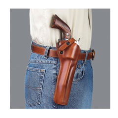 GALCO SAO Ruger 44 Super Blackhawk 7.5in Right Hand Leather Belt Holster (SAO148)