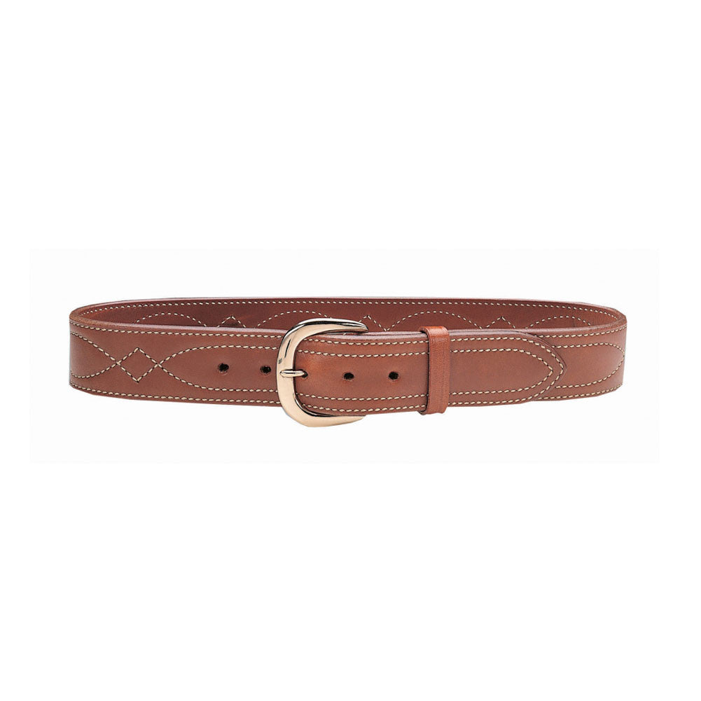 GALCO SB6-40 SB6 Tan 1 3/4in Size 40 Leather Fancy Stitched Belt
