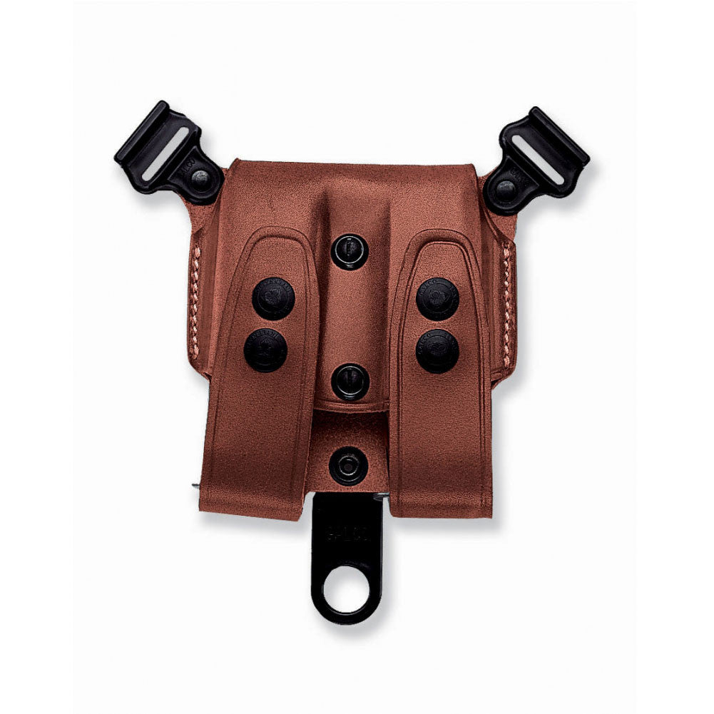 GALCO SCL Glock 17,19,22 Tan Double Mag Carrier For Shoulder Holster (SCL24)