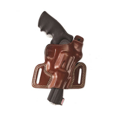 GALCO Silhouette High Ride S&W K Frame Right Hand Leather Belt Holster (SIL114)