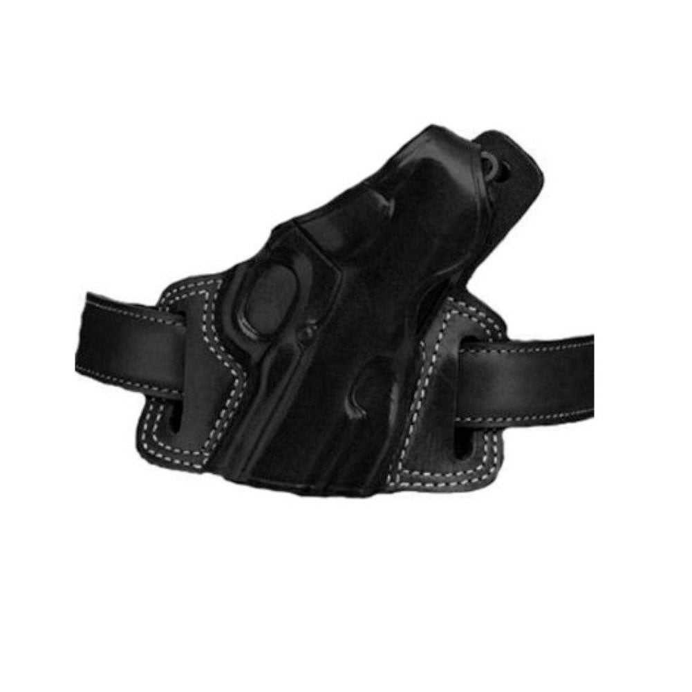 GALCO Silhouette High Ride Colt 5in 1911 Right Hand Leather Belt Holster (SIL212B)