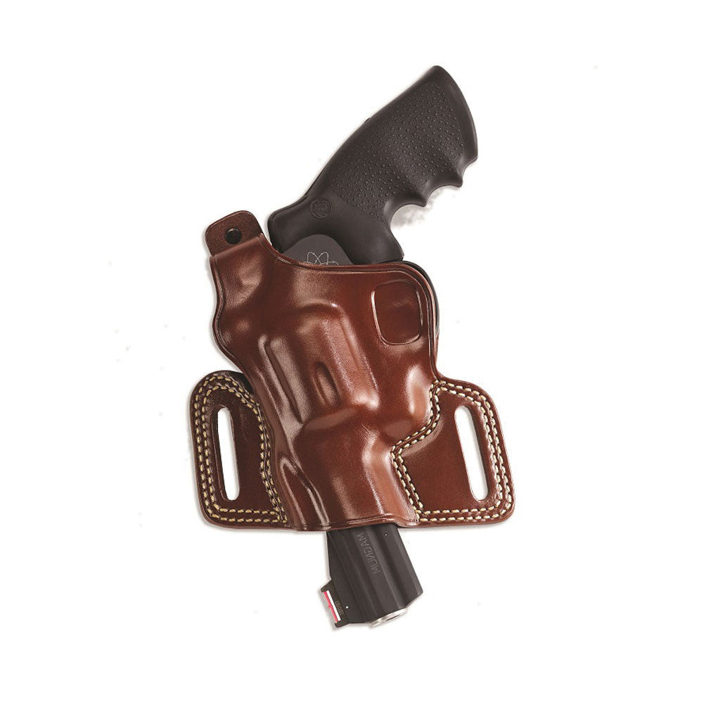 GALCO Silhouette High Ride Glock 17,19,22 Left Hand Leather Belt Holster (SIL225)