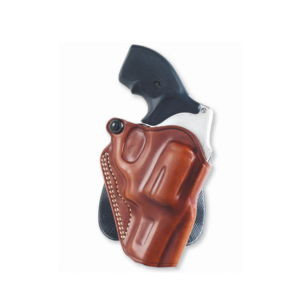 GALCO Speed Kimber 4in 1911 Right Hand Leather Paddle Holster (SPD266)