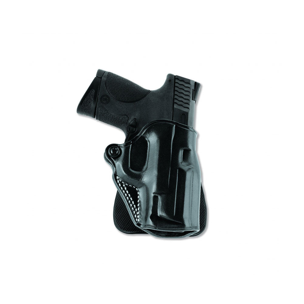 GALCO Speed Glock 26 Right Hand Leather Paddle Holster (SPD286B)