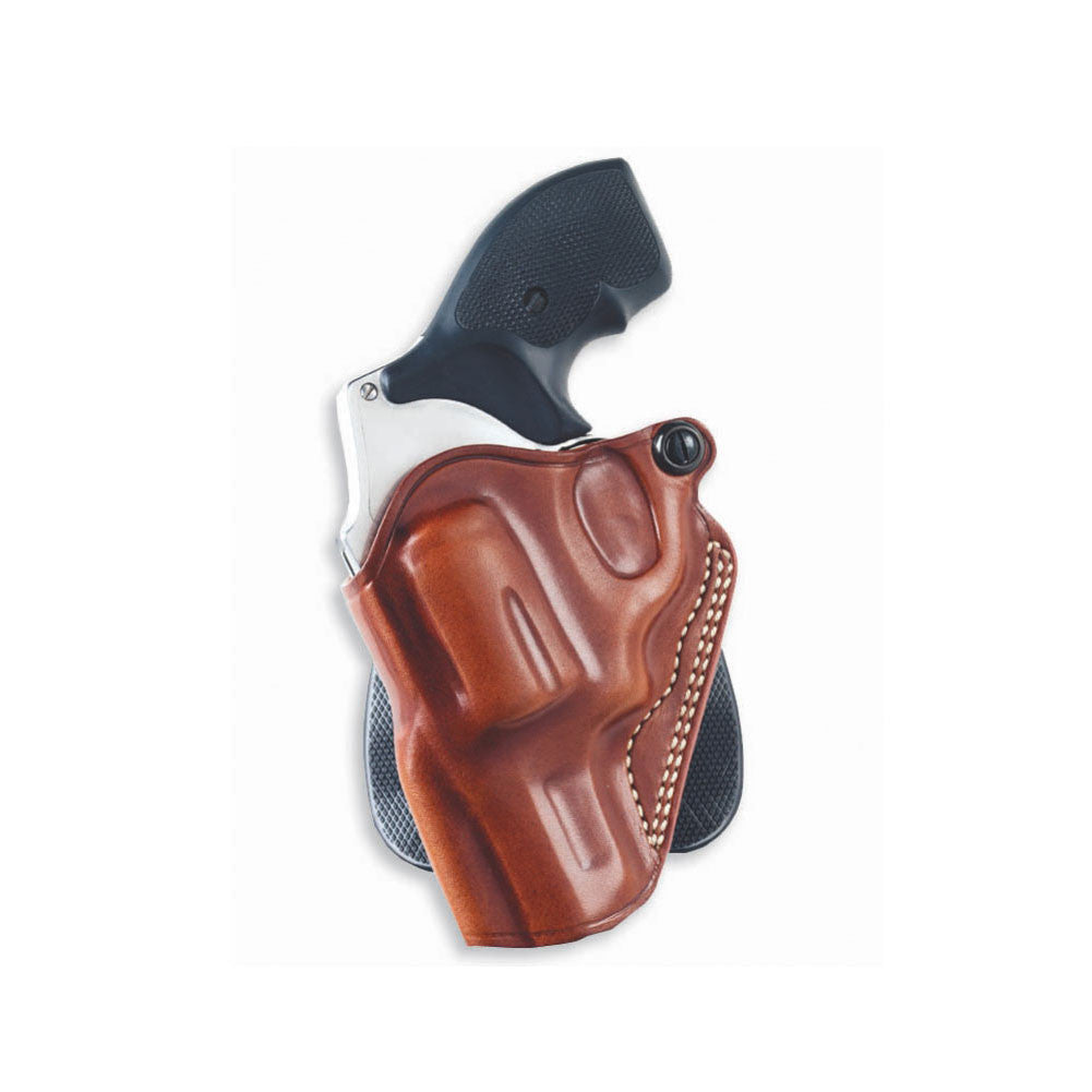 GALCO Speed Kimber 3in 1911 Left Hand Leather Paddle Holster (SPD425)
