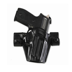 GALCO SSR224B Side Snap Scabbard Glock 22 Gen 2 Right Hand Leather Belt Holster