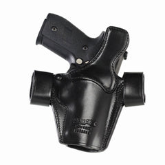 GALCO SSR267B Side Snap Scabbard Colt 4.25in 1911 Gen 2 Left Hand Leather Belt Holster