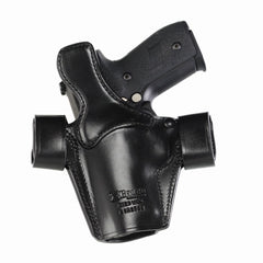GALCO Side Snap Scabbard Glock 27 Gen 2 Right Hand Leather Belt Holster (SSR286B)