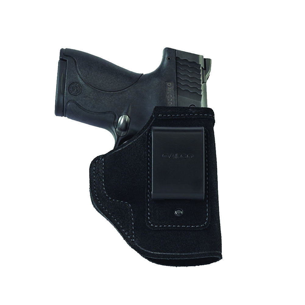 GALCO STO658B Stow-N-Go S&W M&P Shield with CTC Laserguard Right Hand Leather IWB Holster