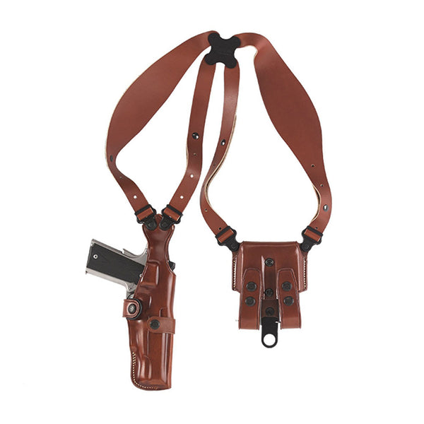 GALCO VHS458 VHS FN Five-seven USG Ambidextrous Leather Shoulder Holster