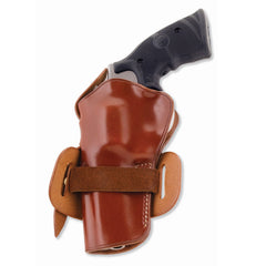 GALCO Wheelgunner Ruger Blackhawk Ambidextrous Leather Belt Holster (WG166)