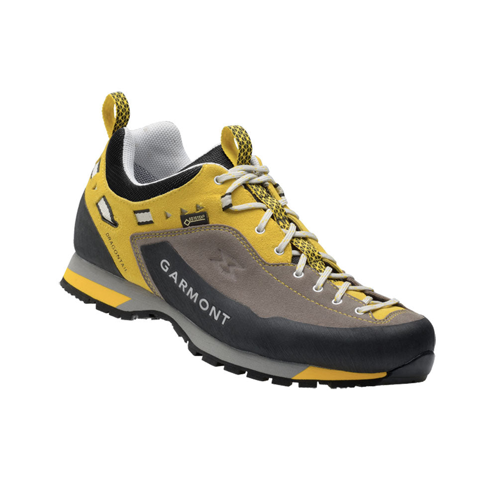 GARMONT Dragontail LT GTX Anthracite/Yellow Hiking Shoes (481044/21B)